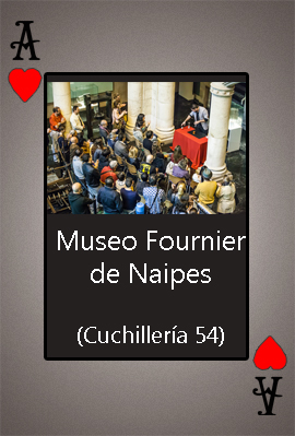 MUESO FOURNIER DE NAIPES